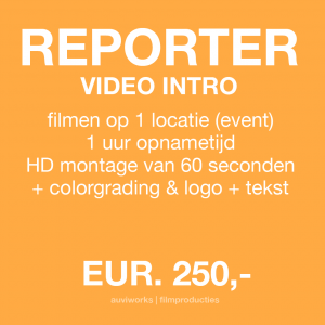 REPORTER VIDEO INTRO