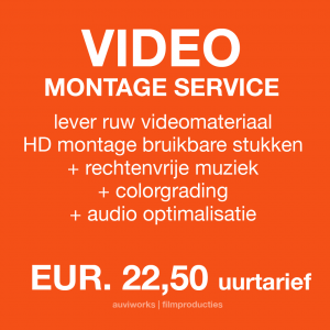 VIDEO MONTAGE SERVICE