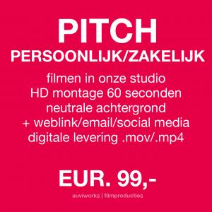 VIDEOPITCH PERSOONLIJK/ZAKELIJK